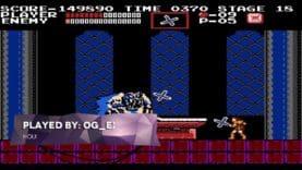 Ending of Castlevania – NES