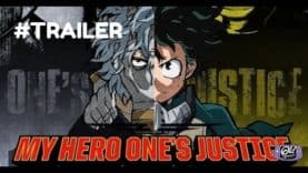 NEW TRAILER FOR MY HERO ONE'S JUSTICE