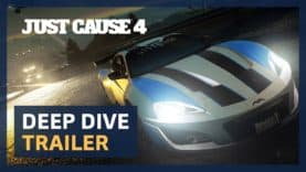 JUST CAUSE 4 DEEP DIVE TRAILER OUT NOW