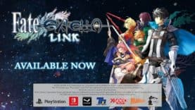 Legendary Heroes Gather for Battle, Fate/EXTELLA LINK Now Available on PC and Consoles
