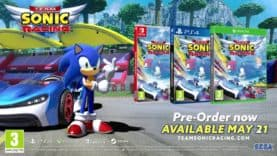 SEGA Unveils New Footage for Team Sonic Racing
