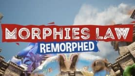 MADCAP ONLINE SHOOTER MORPHIES LAW AVAILABLE NOW IN NEW REMORPHED VERSION WITH MASSIVE FREE UPDATE AND DEMO