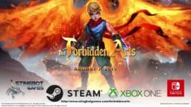 The Forbidden Arts sortira le 7 août sur Nintendo Switch, Xbox One & Steam