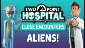 Check out them Aliens today as 'Close Encounters' launches for Two Point Hospital!