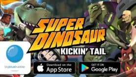 Big Blue Bubble and Skybound Entertainment's Super Dinosaur: Kickin' Tail Launches Worldwide