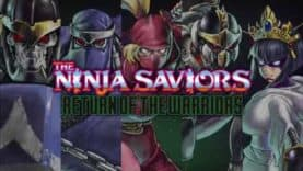 The Ninja Saviors – Return of the Warriors to release in North America on 15th October on PS4 and Switch