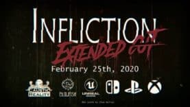 Infliction Torments Nintendo Switch, PlayStation 4, Xbox One on Feb. 25