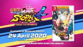NARUTO SHIPPUDEN: Ultimate Ninja STORM 4 ROAD TO BORUTO coming on Nintendo Switch on 24th April, 2020
