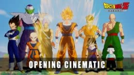 Opening Cinematic for Goku's Next Videogame Outing in DRAGON BALL Z: Kakarot!