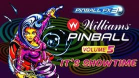 Pinball FX3 receives Williams Pinball: Volume 5
