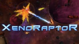 Twin-stick shooter XenoRaptor brings intergalactic cyberdragon bullet-hell to Nintendo Switch, PS4, and Xbox One