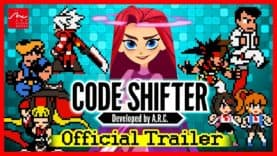 ARC SYSTEM WORKS ANNOUNCES CODE SHIFTER, AN ACTION PLATFORMER  FEATURING AN EPIC CROSSOVER OF CHARACTERS