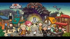 Pixel Art Mobile Game 'Evil Hunter Tycoon', on iOS and Android
