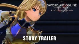 THE LORE OF SWORD ART ONLINE ALICIZATION LYCORIS IN A BRAND NEW STORY TRAILER