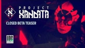 IDC/Games announces the Closed Beta of Project Xandata, an online free to play 3v3 competitive shooter