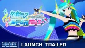 Hatsune Miku: Project DIVA Mega Mix enflamme la scène aujourd'hui sur Nintendo Switch!