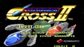 Arcade Archives THUNDER CROSS II is out now on Switch and Playstation 4