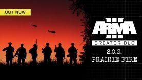 Arma 3 Creator DLC: S.O.G. Prairie Fire Launches Today on Steam