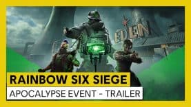 FIGHT FOR HUMANITY'S LAST HOPE IN TOM CLANCY'S RAINBOW SIX® SIEGE'S LIMITED-TIME APOCALYPSE EVENT
