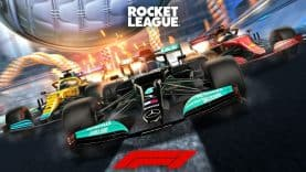 FORMULA 1 FAN PACK AVAILABLE IN ROCKET LEAGUE® ON MAY 20